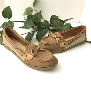 American Eagle Tan Loafer Boat Shoes Size 11